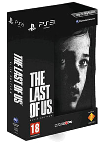 The Last of Us GAME Exclusive Ellie Edition PlayStation-3 Cover Art