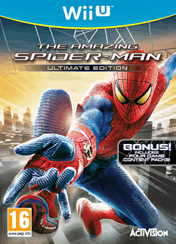 The Amazing Spider-Man: Ultimate Edition Wii U Cover Art