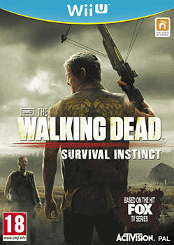 The Walking Dead: Survival Instinct Wii U Cover Art