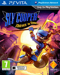 Sly Cooper: Thieves in Time PS Vita Cover Art