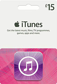 iTunes Card - £15 Gifts