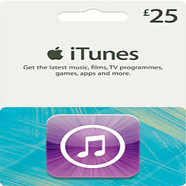 iTunes Card - £25 Gifts