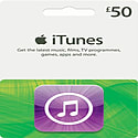 iTunes Card - £50 Gifts