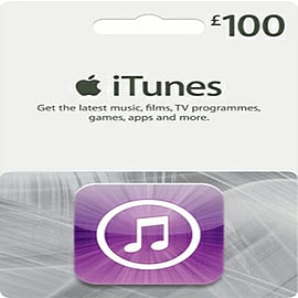 iTunes Card - £100 Gifts