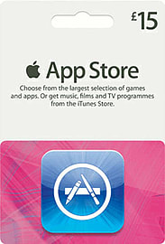 iTunes Apps - £15 Gifts