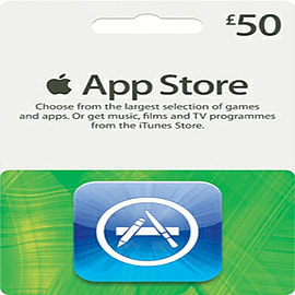 iTunes Apps - £50 Gifts