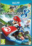 Mario Kart 8 with Super Mario Kart Racing Wheel Wii-U