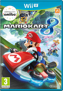 Mario Kart 8 Wii-U Cover Art