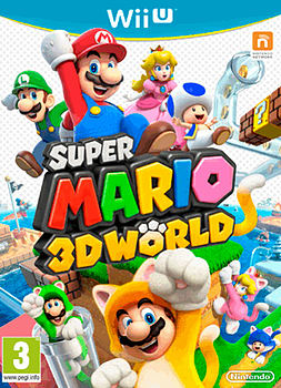 Super Mario 3D World Wii U Cover Art