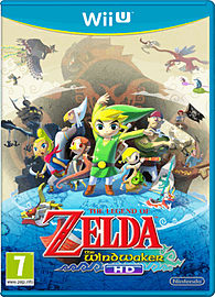 The Legend of Zelda: The Wind Waker HD Wii U Cover Art