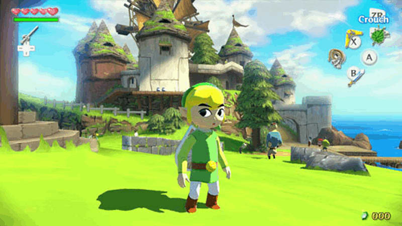 The Legend of Zelda Wind Waker on Nintendo Wii U at GAME