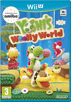 Yoshi's Woolly World Wii U Cover Art