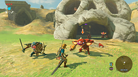 The Legend of Zelda: Breath of the Wild screen shot 2