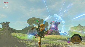 The Legend of Zelda: Breath of the Wild screen shot 4