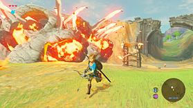 The Legend of Zelda: Breath of the Wild screen shot 7