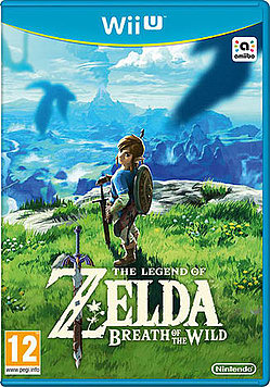 The Legend of Zelda: Breath of the Wild Wii U Cover Art