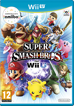 Super Smash Bros. Wii U Cover Art