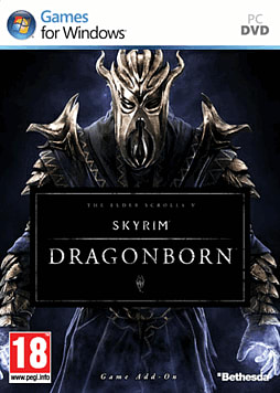 The Elder Scrolls V: Skyrim - Dragonborn PC Games Cover Art
