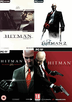 Hitman Super Bundle PC Games Cover Art