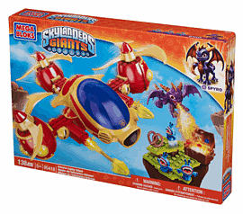 Skylanders Mega Bloks Arkeyan Copter Attack Toys and Gadgets