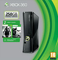 Xbox 360 250GB with Batman: Arkham City, Darksiders II and 1 month Xbox Live Gold Membership Xbox 360