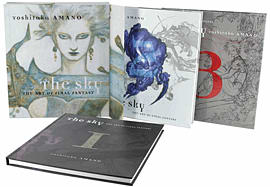 The Sky: The Art of Final Fantasy Slip Case Edition Strategy Guides and Books