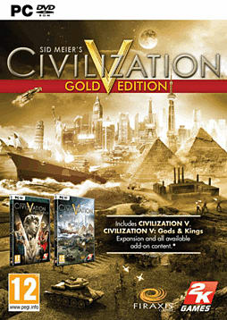 Sid Meier's Civilization V Gold Edition PC Games Cover Art