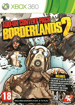 Borderlands 2 Add-On Content Pack Xbox 360