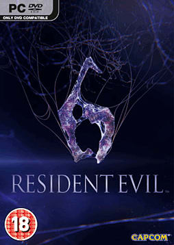 Resident Evil 6 PC Games Cover Art