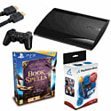 Playstation 3 500GB Slim with Wonderbook Book of Spells, Move Starter Pack 2 and HDMI Cable Playstation 3
