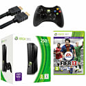 Xbox 360 250GB with  Xbox 360 Wireless Controller, HDMI Cable and FIFA 13 Xbox 360