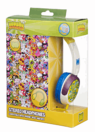 Moshi Monsters White Headphones Accessories
