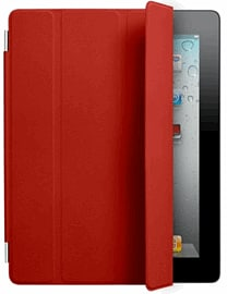 iPad Smart Cover - Leather - Red Accessories