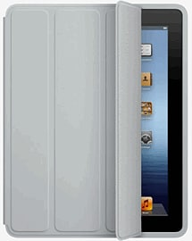 iPad Smart Case - Polyurethane - Light Grey Accessories