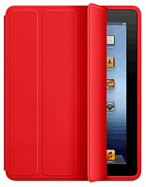 iPad Smart Case - Polyurethane - Red Accessories