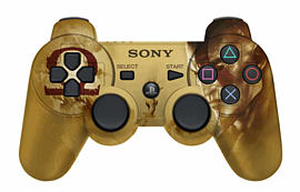 Dualshock 3 God of War Ascension Limited Edition PlayStation 3 Controller Accessories