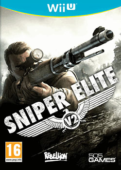 Sniper Elite V2 Wii U Cover Art