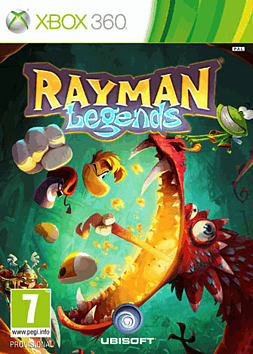 Rayman Legends Xbox 360 Cover Art