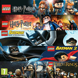 LEGO Super Bundle PC-Games Cover Art