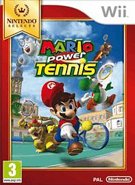Mario Power Tennis - Nintendo Selects Wii
