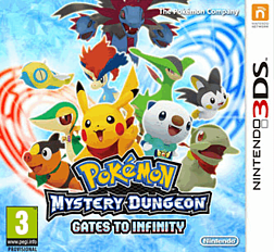 Pokemon Mystery Dungeon: Gates to Infinity 3DS Cover Art