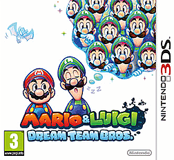 Mario and Luigi Dream Team 3DS Cover Art