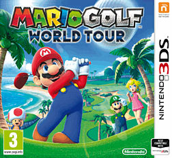 Mario Golf World Tour 3DS Cover Art