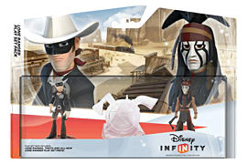 Disney INFINITY Lone Ranger Playset Toys and Gadgets