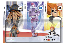 Disney INFINITY Villains Triple Character Pack Toys and Gadgets