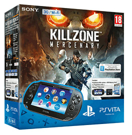 PlayStation Vita (3G) with Killzone: Mercenary - Only at GAME PS Vita