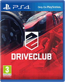 DriveClub PlayStation 4 Cover Art