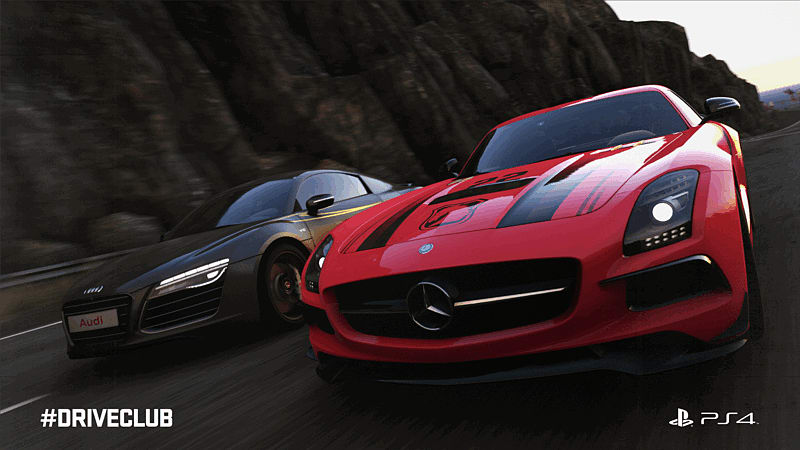DriveClub arrives exclusively on PlayStation 4 on 10/10/2014