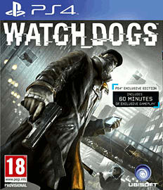 Watch Dogs PlayStation 4 Cover Art