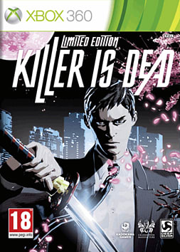Killer is Dead Limited Edition Xbox 360 Cover Art